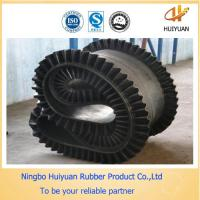 Corrugated Sidewall Rubber Conveyor Belt used in a big dip angle 0-90degree Manufactures