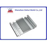 CNC Machining Aluminum Heat Sink Extrusion Profiles With Powder Coating Manufactures