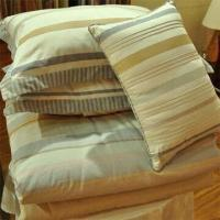 China 100% Cotton Yarn Dyed Duvet Covet Set, Customized Sizes and Colors are Accepted on sale