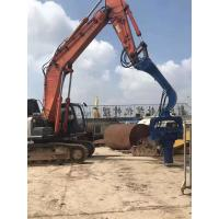 High Efficiency Excavator Mounted Sheet Pile Driver 455KN Centrifugal Force Manufactures