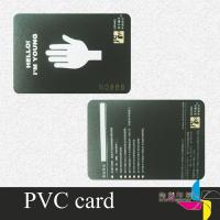 Frosting Offset Printed Plastic Cards With Magnetic Stripe For Banking Manufactures