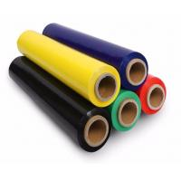 5 '' x 1000 ' x 80 G Colored Stretch Film 350 % Elongation Stretch Wrap Manufactures