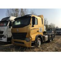 Durable HOWO A7 Tractor Truck , High Performance 420HP Tractor Head Truck For Logistics Manufactures