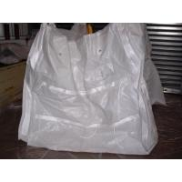 Industrial pipe sack white Gravel Bulk Bag , weight bag for oil industry Manufactures