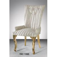 queen back soft high density fabric dining chair (YDC-10GD) Manufactures