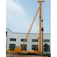 China DCB60-15 Hydraulic Walking Compaction Hammer Pile Driver with Steel Sunken Tube on sale