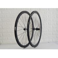 Brass Nipple Material Carbon Road Bike Wheels Provides Smoother Ride DT350S Manufactures
