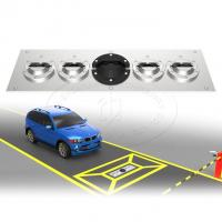 Durable Portable Explosive Detector Under Vehicle Inspection System With Car Plate Recognition
