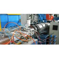 China Twin Screw Extruder Small Plastic PVC Profile Extrusion Line For Skirting Wall Corner on sale