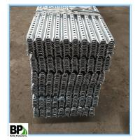 2.08lbs/ft galvanized steel U -channel post Manufactures