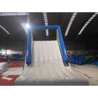 Water Park Giant Inflatable Slide / Blow Up Water Slide For Inground Pool Manufactures