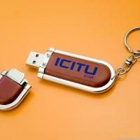 CE, RoHS, FCC, SGS/Promotional Leather USB Memory Stick (T-070) Manufactures
