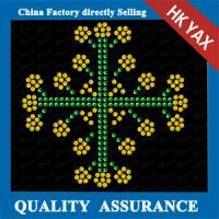 china manufacture small motif ;wholesale rhinestone hotfix for christmas;latest designer for christmas decoration Manufactures