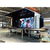 Effective Moving Truck Mobile Led Display Advertising / LED Truck Display 10mm Manufactures