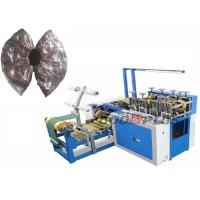 China Home Daily Use Plastic Shoes Cover Making Machine With Non Woven Joints on sale