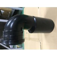 Toilet Black Plastic Drain Pipe For Hang Wall Type Toilet Seat To Hide Water Tank Fittings Manufactures
