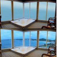 Intelligent PDLC Privacy Glass Film / Sound Proofing Smart Glass Panel Manufactures