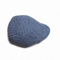 Fashion Men's Hat, Made of Polyester and Sponge, Available in Various Designs Manufactures