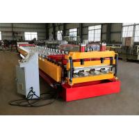 High Strength Floor Decking Forming Machine Easy Operation Low Maintenance Cost