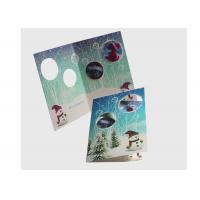 Eco Friendly Lenticular Card Printing / Holiday Lenticular 3d Greeting Cards Manufactures