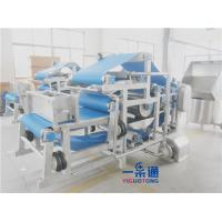 Continuous Belt Filter Press Industrial Juicer Machine For Fruits And Vegetables Manufactures