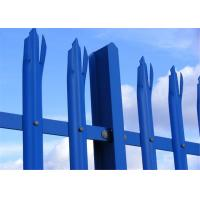 Hot Dipped Galvanized Palisade Fence Manufactures