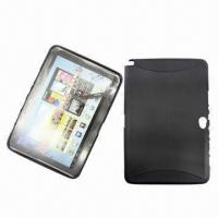 Tablet PC Cases, Made of Silicone, Ideal for Samsung GalaxyNote 10.1, Various Colors are Available Manufactures