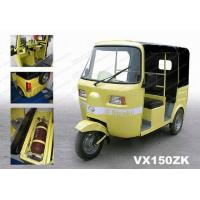 Quality 150/175cc CNG rear water cooled engine  3 wheeler tricycle autorickshaw for sale