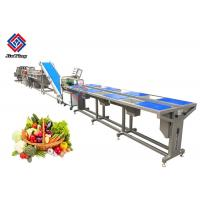 China SUS 304 SS Material Frozen Vegetable Production Line For Food Distribute Center on sale