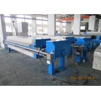 Stainless Steel Chamber Plate & Frame Filter Press Polypropylene Plate Size 800mm Manufactures