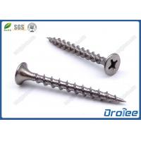 China Passivated 410 Stainless Steel Bugle Head Coarse Thread Drywall Screws on sale
