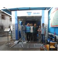 Effective Tunnel Car Washing Machine , Horizontal Type Wheel Cleaning Systems Manufactures