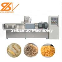 Full Automatic Bread Crumb Maker 380V 50HZ Wheat Flour Raw Material Manufactures
