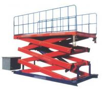 Adjustment automobile SJG 0.9 900 kg Hydraulic Lifting Elevating Work Platform Manufactures