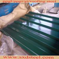 China steel roofing sheets for home application on sale