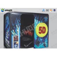 Electronic Red / Black 5D Movie Theater Kino With More Than 500 Pecice Films Manufactures