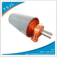 Drive roller with rubber lag, drive pulley with rubber lag Manufactures