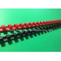 Colorful 1/2 Inch Wire Binding Combs 100Pcs / Box With Flexible Teeth Manufactures