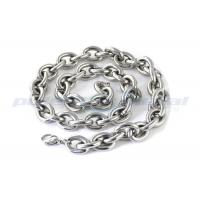 Custom Specialty Hardware Fasteners , Welded SUS316 Stainless Steel Twisted Link Chain DIN 764 Manufactures