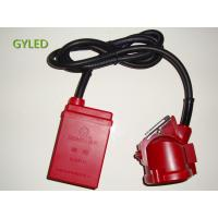High Powered LED Miners Cap Lamp / Coal Miners Headlamp With Rechargeable Battery Manufactures