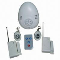 China Low-cost Home Alarm System, Built-in Microwave Doppler Detector Featuring on sale