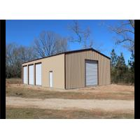 Easy Assembled Prefab Steel Frame Storage Buildings With Aluminum Windows Manufactures