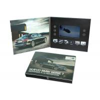 Print Your Artwork LCD Video Brochure Video Greeting Card with Memory of 128MB to 8GB to Play Your Videos Manufactures