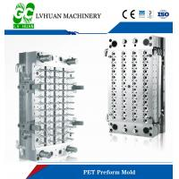 48 Cavity PET Preform Mould Valve Gated Type Without Tail Reduce Labor Force Manufactures