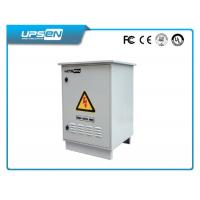2KVA / 1400W IP55 Double Conversion Online UPS for Outdoor Telecom / Network Equipments Manufactures