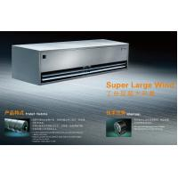 Super Large Wind Heavy Duty Industrial Air Curtain , Entryway Cool Air Doors Manufactures