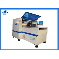 China 5mm PCB 8 nozzles 40000CPH Pick And Place Machine on sale