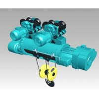 Double speed wire rope motor hoist 20 ton Manufactures