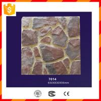 China PU polyurethane light weight faux stone panel for home decorations on sale