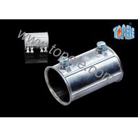 Buy cheap Custom Electrical Conduit Fittings Zinc EMT Coupling Used Indoors And Outdoors from wholesalers